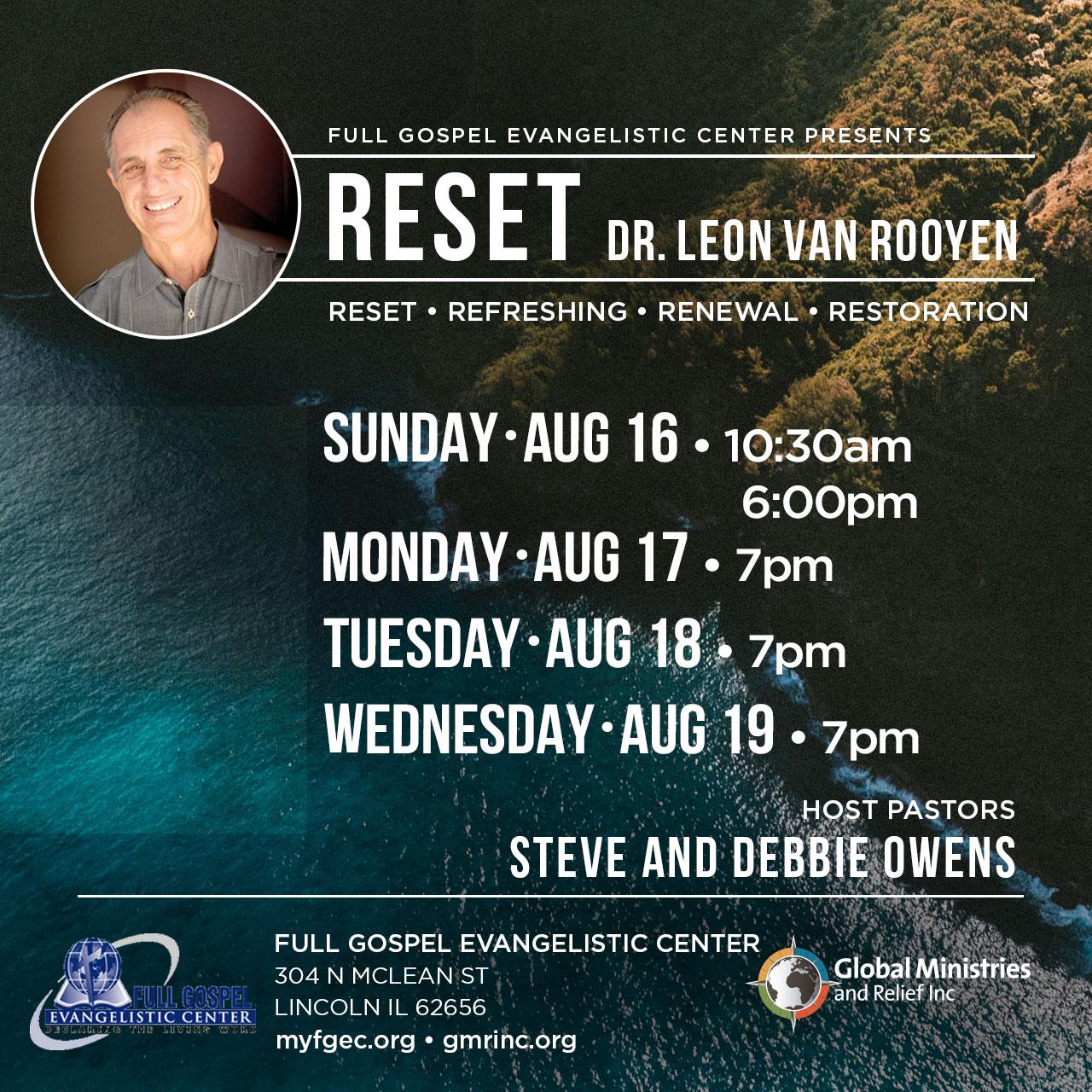 reset-full-gospel-dr-leon-van-rooyen